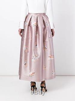 NWT Rochas Ballerina Print Maxi Skirt 40/4