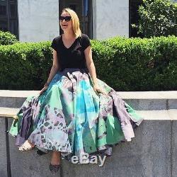Nwt Sz 4 Anthropologie Pintura Maxi Ball Skirt Geisha Designs Fabulous Standout