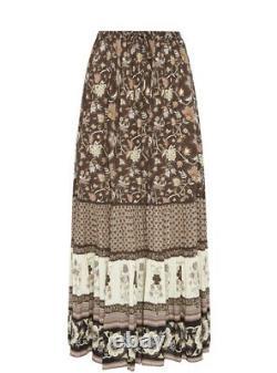 NWT Spell & The Gypsy Collective PORTOBELLO ROAD Maxi Skirt, S