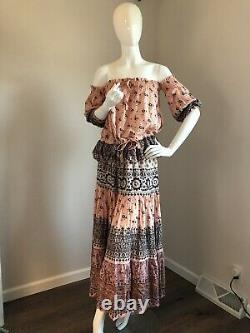 NWT Spell & The Gypsy Lionheart Maxi Skirt Medium