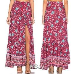 NWT Spell & the Gypsy Folk Town Button Down Maxi Small