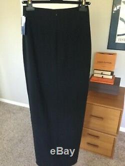 NWT Sz 4 Elizabeth and James Avita Black Skirt Long Maxi Celeb Favorite