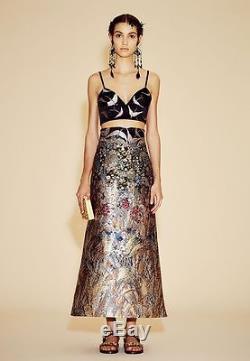 NWT VALENTINO Cute Maxi Skirt&Bra Set 40/4