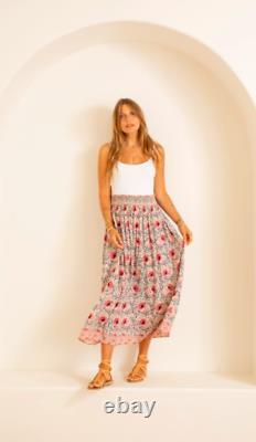 Natalie Martin Bella Skirt / Vintage Cream Flowers