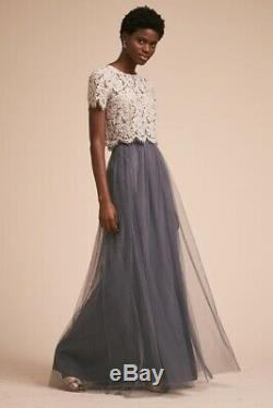 New Anthropologie Bhldn $220 Louise Tulle Skirt By Jenny Yoo Sz 4