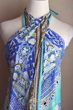 New Camilla Franks Andalusia Maxi Long Wrap Kaftan Skirt Sarong Beach Dress OS