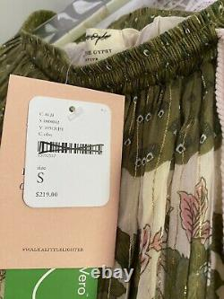 New Free People Spell And The Gypsy Coco Lei Maxi Sz Small