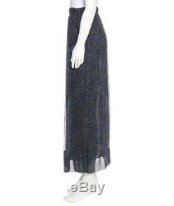 New Gorgeous Isabel Marant Etoile Belina Print Silk Skirt Wrap Maxi $525 Retail
