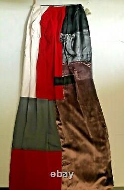 New MAISON MARTIN MARGIELA Womens Patchwork Maxi Skirt Italy 40 Free Ship