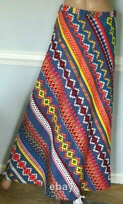 New NWOT $550 Tory Burch Clemente Embroidered Dress Long Maxi Runway Skirt US 2