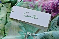 New NWT Camilla Franks Bahia Bliss Swim Sarong Skirt Kaftan Long Maxi Dress OS