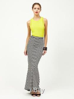 New RRP $300 TORN by Ronny Kobo CARLA SIREN PANEL SKIRT L layby avail