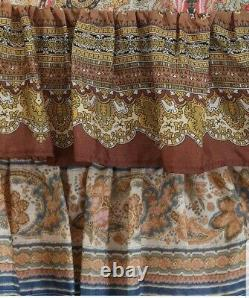 New SOLD OUT Zimmermann freja tiered maxi skirt silk paisley 0 XS S 6 8