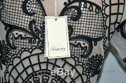 New Temperley London Delphia Embroidered Long Maxi Dress Top Skirt Set UK 8 US 4