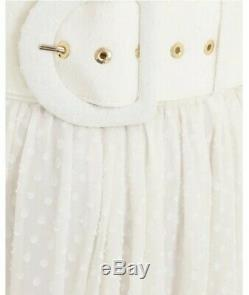 New Zimmermann super eight dot maxi skirt ivory 0 1 2 3 XS S M L 8 10 12 14