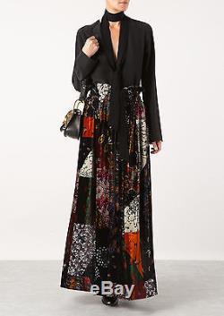 Nwt Chloé Printed Velvet Maxi Skirt