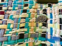 Nwt Most Wanted Chanel Cuba 17c Lesage Fantasy Tweed Blue Skirt Fringe 38 36 $5k