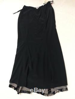 Oscar de la Renta Couture New Vintage full lenght velvet skirt size M