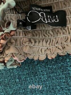 PatBO shirred waist convertible maxi skirt new Size medium