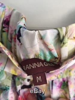 RANNA GILL for ANTHROPOLOGIE'Firefleur' floral maxi skirt- Sz. M Gorgeous