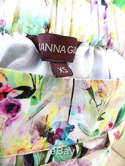 RANNA GILL for ANTHROPOLOGIE'Firefleur' floral maxi skirt- Sz. XS- Gorgeous
