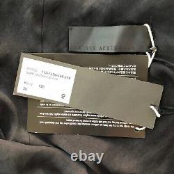 RARE NWT Haider Ackermann Spring 2011 Runway Maxi Skirt $1200 Sz S