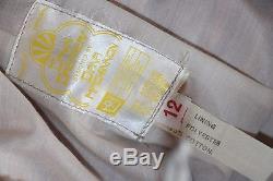 RARE Original NEW + Tags Vintage 1970s Long Maxi Skirt Top Dress Boho Disco M 12
