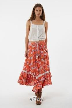 RARE Spell Designs Revolver Kerchief Maxi Skirt Small, NWOT, Sold Out