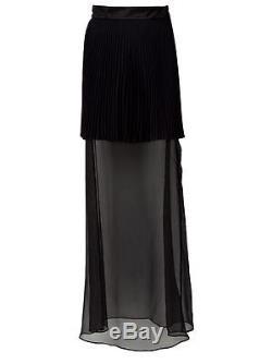 RETAIL $1044 NEW RICHARD NICOLL Layered Maxi Skirt SIZE UK 12