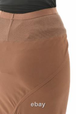 RICK OWENS Woman Caramel Calf Length Skirt Size 40 IT