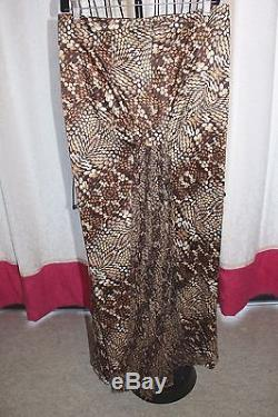 ROBERTO CAVALLI Multicolor Maxi Skirt, Made in Italy, Size 40 (US Size 10) NWT