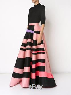 ROKSANDA Color Block Maxi Skirt UK10 6