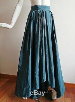 RRP 960 MAX MARA Elegante Long Skirt in SILK Blend 4USA GB6 34D 38IT