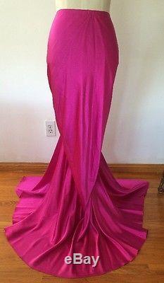 Ralph Lauren Black Label Collection Silk Duchesse Bias Bustle 8. Dress-y Skirt