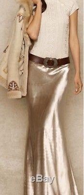 Ralph Lauren Black Label Long Velvet Evening Skirt Size 4