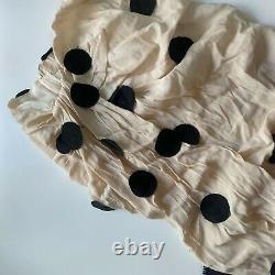Rare Jacquemus dot maxi tassels skirt FR40