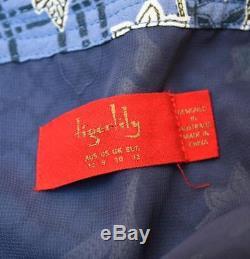 Rare TIGERLILY Sold-Out Cornflower Blue Floral Batik Print Maxi Skirt AU12