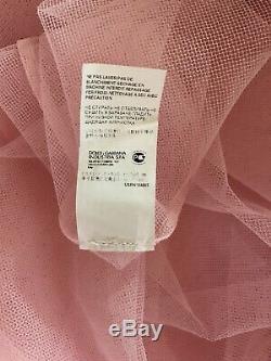 Rare Vtg Dolce & Gabbana D&G Pink Tulle Skirt S