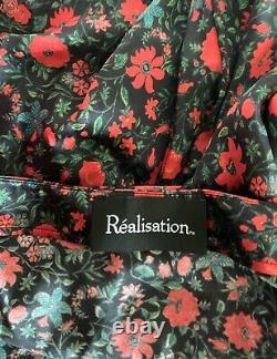 Realisation Par NWT Joni Floral Silk Maxi Skirt XS
