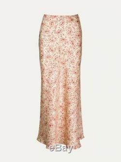 Realisation Par The Joni Silk Paisley Maxi Skirt S Nwt