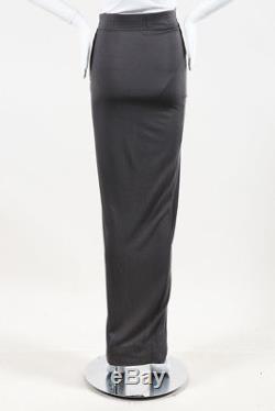 Rick Owens Lilies Jersey Maxi Skirt SZ 44