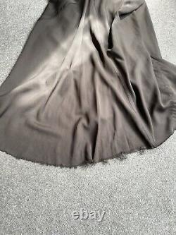 Rick Owens Silk Long Coda Skirt