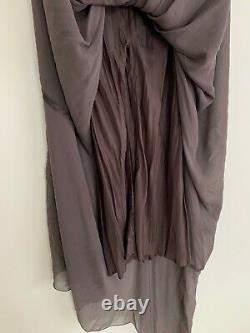 Rick Owens Ss13 Island Mermaid Silk Maxi Skirt Koolaid Size 42