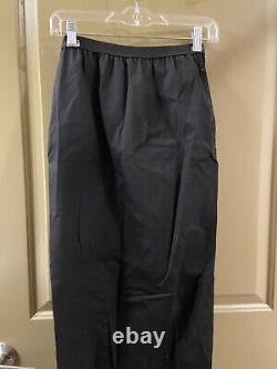 Rick owens cotton blend long maxi skirt sz 6 (item 15.4)