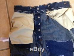 Rrl double rl Women's patch long skirt SZ 24 VINTAGE NEW bucket back maxi pockt
