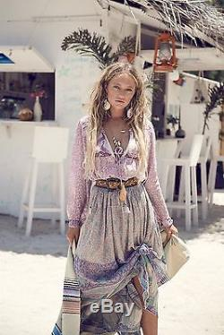 SOLD OUT Spell & The Gypsy Xanadu Boho Maxi Skirt OPAL SMALL