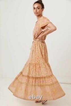 SPELL Love Story Skirt in Peach Blossom XXS