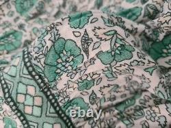 SPELL Sage Kombi Maxi Skirt sz Medium