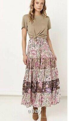 SPELL & THE GYPSY COLLECTIVE Desert Daisy Maxi Skirt- Lilac Size L