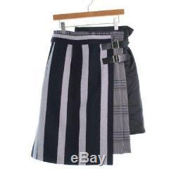 Sacai Skirts 565718 GreyBlueMulticolor 2